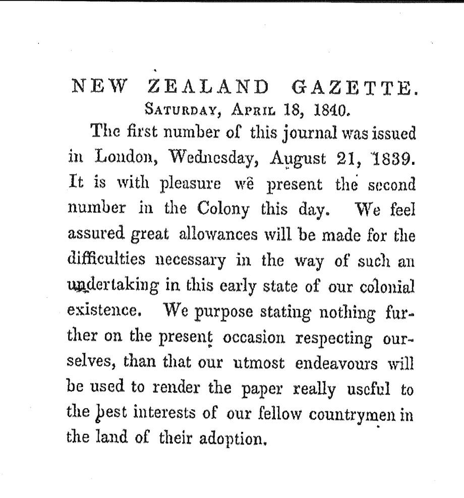 NZ newspaper