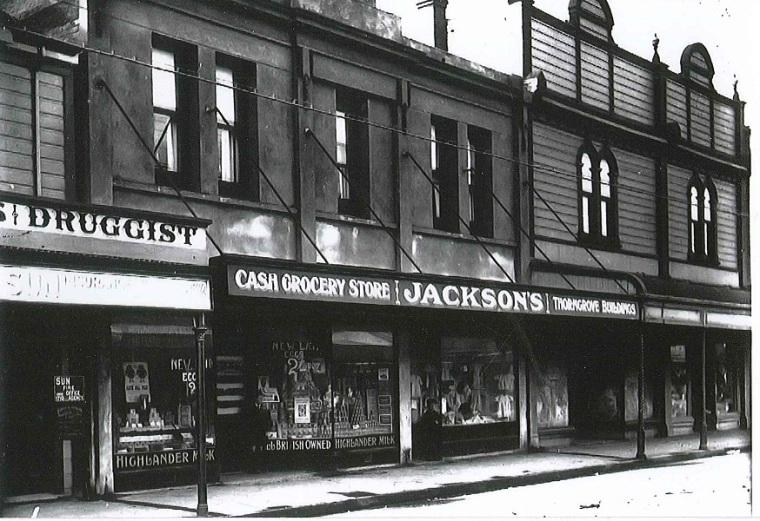 Jackson street black and white